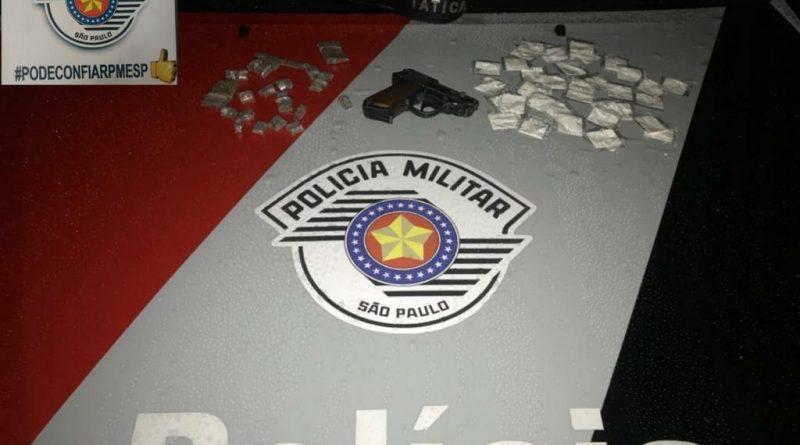 MELIANTE É PRESO NA ZONA SUL DE SÃO PAULO COM SIMULACRO E ENTORPECENTES