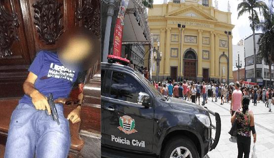 HOMEM ALUCINADO MATA 4 PESSOAS EM CATEDRAL DE CAMPINAS E DEPOIS SE SUICIDA
