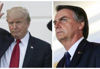 Trump diz que Bolsonaro é 'grande líder' do Brasil
