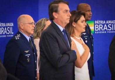 Oficiais-generais recém-promovidos se apresentam ao Presidente da República