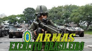 Quais são as armas exclusivas do exército?
