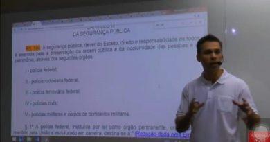 """DELEGADO FÁBIO SILVA, PROFESSOR DO CURSINHO """"SOU CONCURSEIRO"""" DENIGRE E OFENDE OS 130.000 GCMS DO BRASIL"""