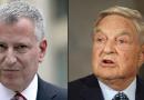 Bill de Blasio é amigo íntimo do presidente da fundação de Soros