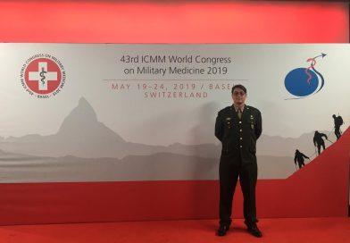Oficial do Exército Brasileiro conquista prêmio no Mundial de Medicina Militar na Suíça