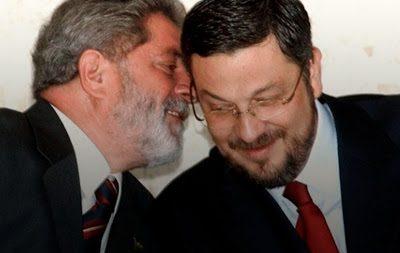 Palocci afirma que ex-presidente Lula teria roubado até o próprio partido