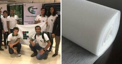 Estudantes de Mato Grosso criam fralda biodegradável feita a partir da mandioca