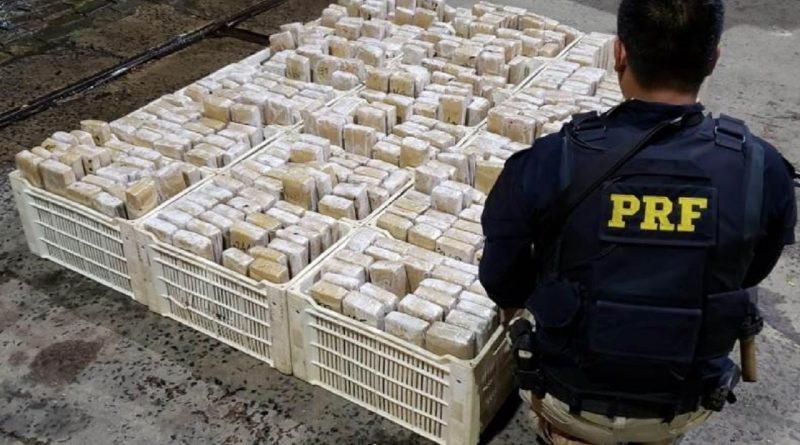 Polícia Rodoviária Federal apreende 3,5 toneladas de drogas em pleno 7 de Setembro