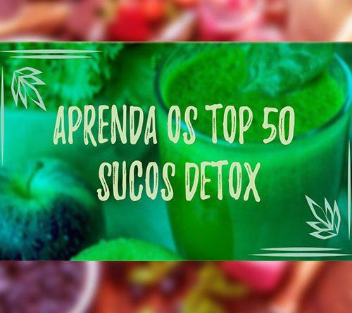 50 TOP SUCOS DETOX