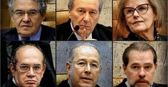 O Brasil acorda envergonhado e pedindo intervenção militar contra decisão do STF