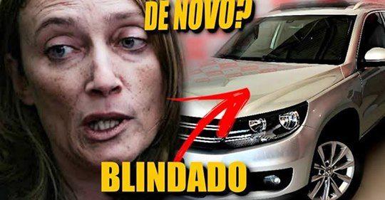 Maria do Rosário tem carro roubado (socializado) por bandidos (vítimas da sociedade)