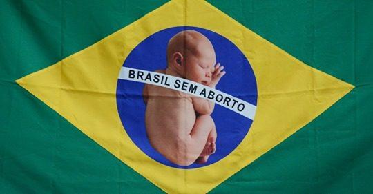 Bolsonaro disse ao mundo que o Brasil é contra o aborto