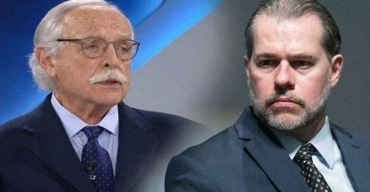 """Jurista afirma que objetivo de Toffoli é """"chantagear políticos, instituições e pessoas físicas e jurídicas"""""""