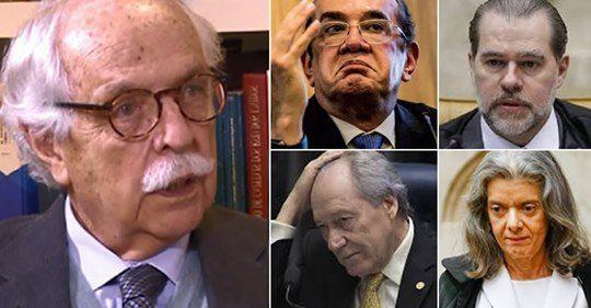 Carvalhosa cita intervenção militar, novo Congresso e novo STF
