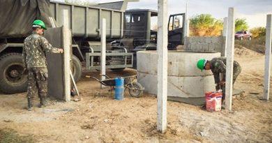 Exército entrega 17 poços artesianos em 7 municípios do semiárido potiguar
