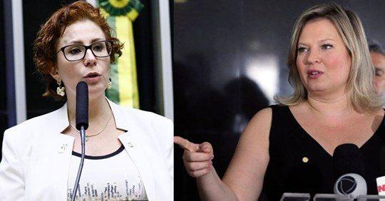 """Joice é acusada de debochar de aborto espontâneo de Zambelli: """"Psicopata, sádica!"""""""