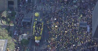 Ato na Paulista defende prisão após condenação em segunda instância