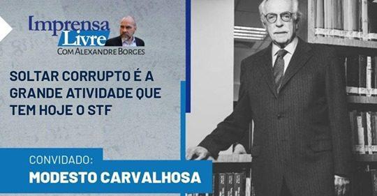 A GRANDE ATIVIDADE DO STF.. SOLTAR CORRUPTOS