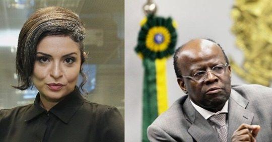 """""""Batia em mulher e era autoritário"""", diz Madeleine Lackso sobre Joaquim Barbosa"""
