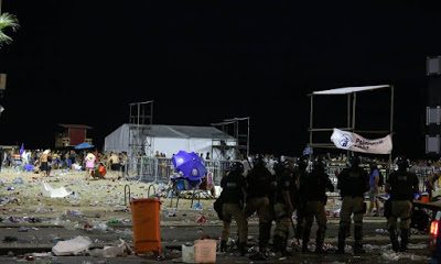 Polícia prende 28 após tumulto na abertura do carnaval do Rio