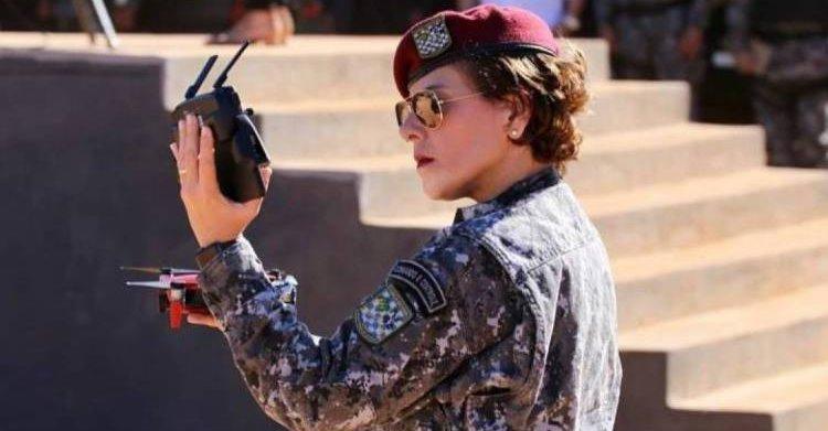 Primeira mulher a ocupar cargo de coordenadora na Força Nacional é cearense; conheça perfil de Keydna