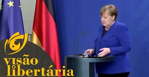 """Noticiário alemão Das Bild diz que lockdown foi um """"erro enorme"""""""