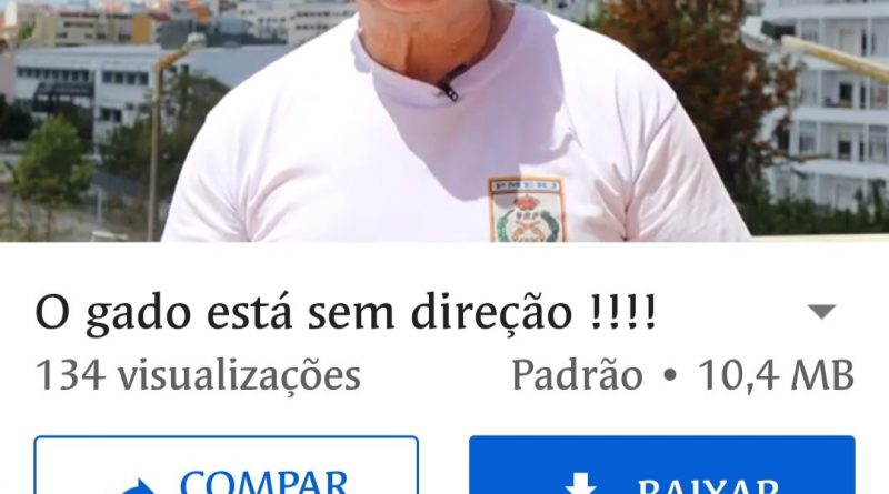 Marcos Bomfim dissemina mentiras contra o Presidente Bolsonaro