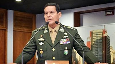 Em artigo, General Mourão pede respeito aos limites no Brasil