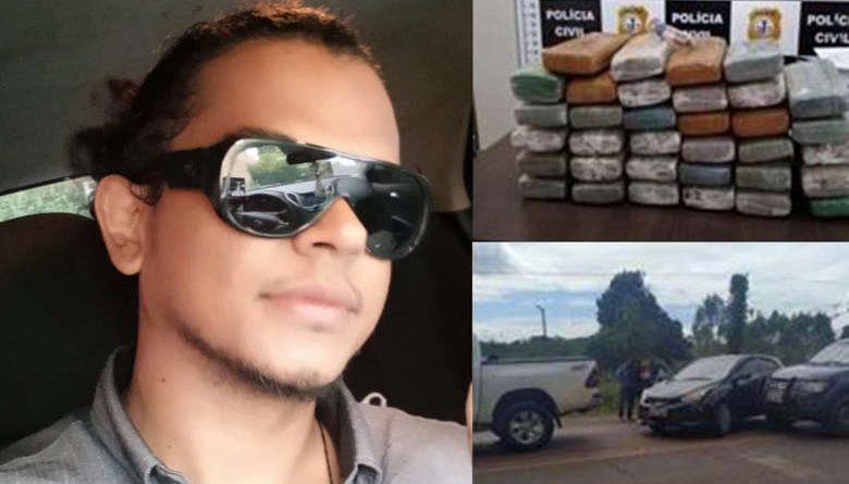 Filho de deputado do PT, que faria live contra Bolsonaro hoje, é preso com 40 kg de maconha