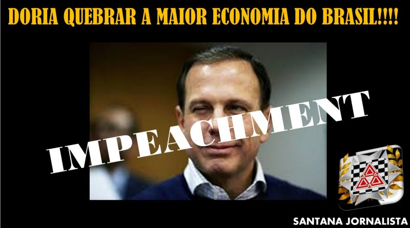 Impeachment do Doria já