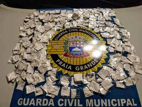 GCM- PRAIA GRANDE/ SP TRÁFICO DE DROGAS