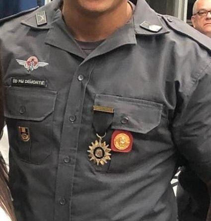 Nota de Falecimento de Policial Militar
