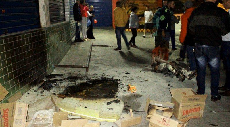 Morador de rua é queimado enquanto dormia em Taboão da Serra