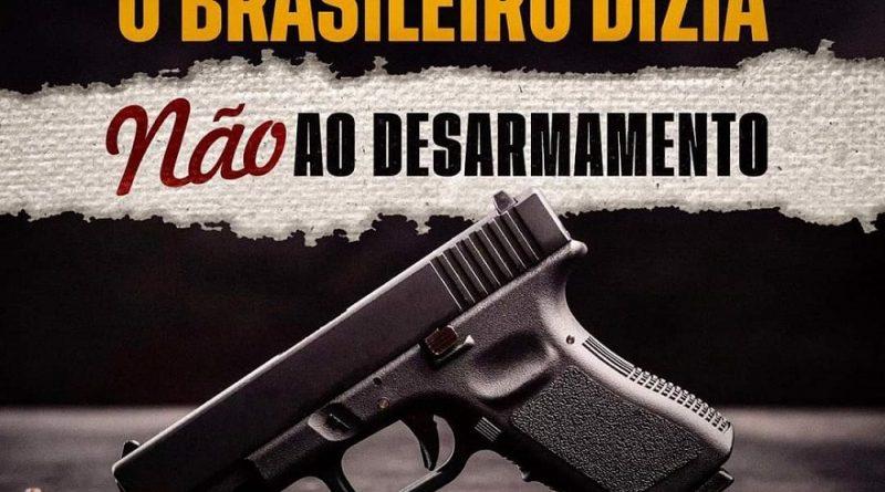 Não ao Desarmamento do cidadão de bem