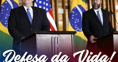 Brasil e EUA assinam acordo contra o Aborto