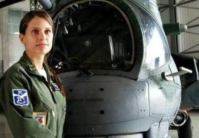 Tenente Vitória Cavalcanti da FAB