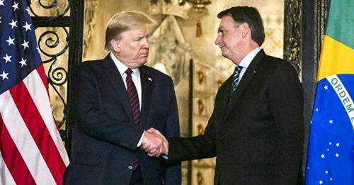 Bolsonaro diz que está confiante na reeleição de Trump