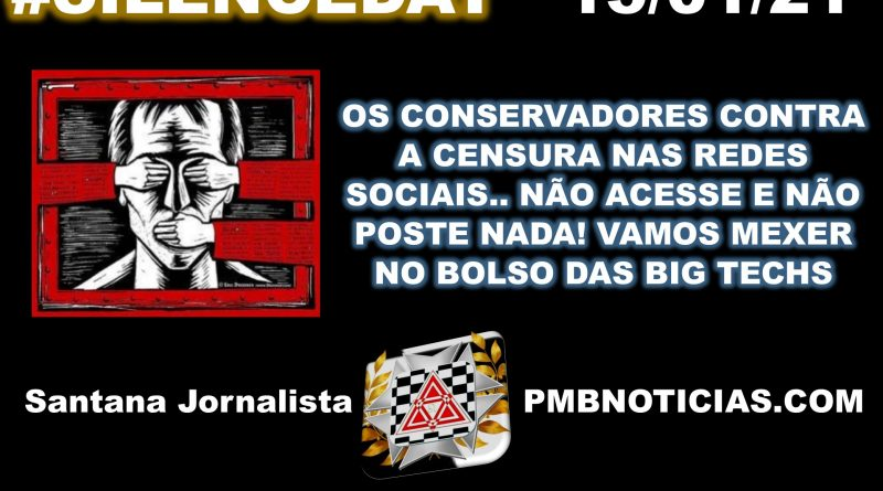 SILENCEDAY DIA DE PROTESTO CONTRA CENSURA