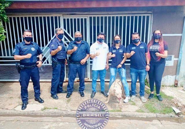 Guarda Municipal atende ocorrência de Maus Tratos de animais