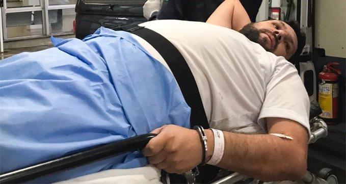 Oswaldo Eustáquio denuncia agressão de policial