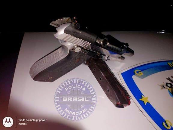 GCM de Santana de Parnaíba detém marginais armados