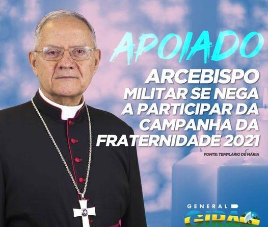 Católicos contra a deturpada Campanha da Fraternidade 2021