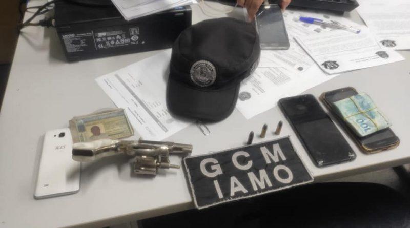 GCM detém marginal armado no centro de São Paulo