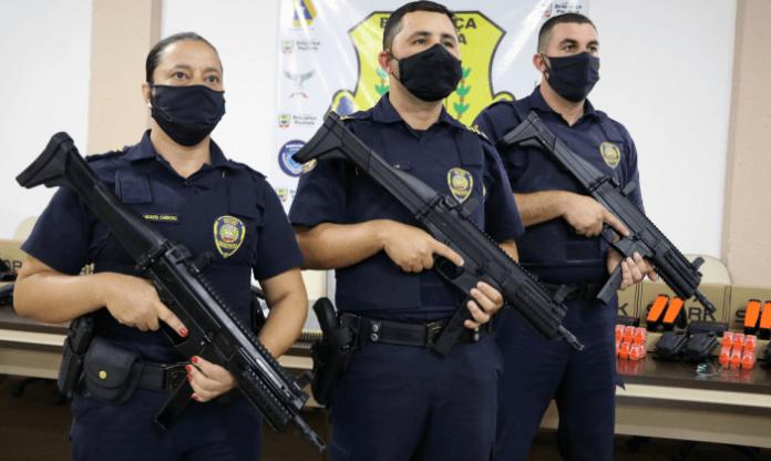 Guarda Municipal de Bragança Paulista recebe novos armamentos