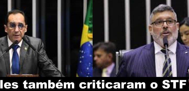O Senador Kajuru e Alexandre Frota também criticaram o STF