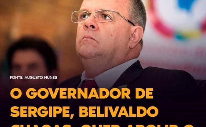 Governador esquerdista de Sergipe quer confiscar a propriedade privada do cidadão