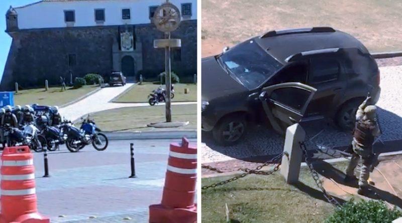 POLICIAL MILITAR SE REVOLTA CONTRA O SISTEMA E ACABA MORTO EM SALVADOR