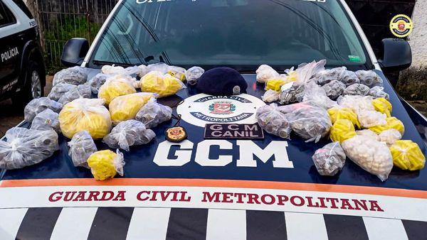 GCM localiza drogas e 2 corpos em São Mateus-SP