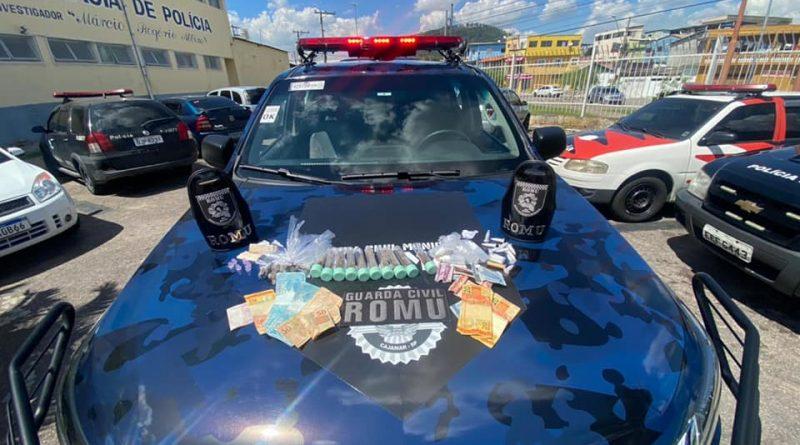GCM CAJAMAR- Ocorrência Tráfico de Drogas- SP