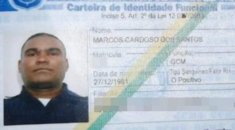 Guarda Civil é executado em Salvador-BA
