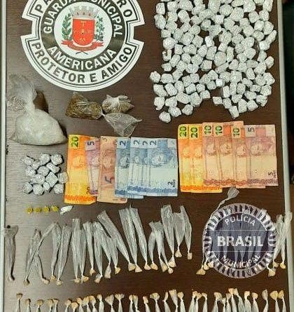 Tráfico de drogas em Americana, interior de SP